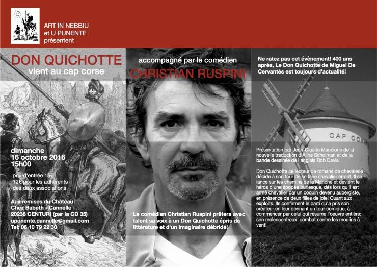 Quichotte Poster