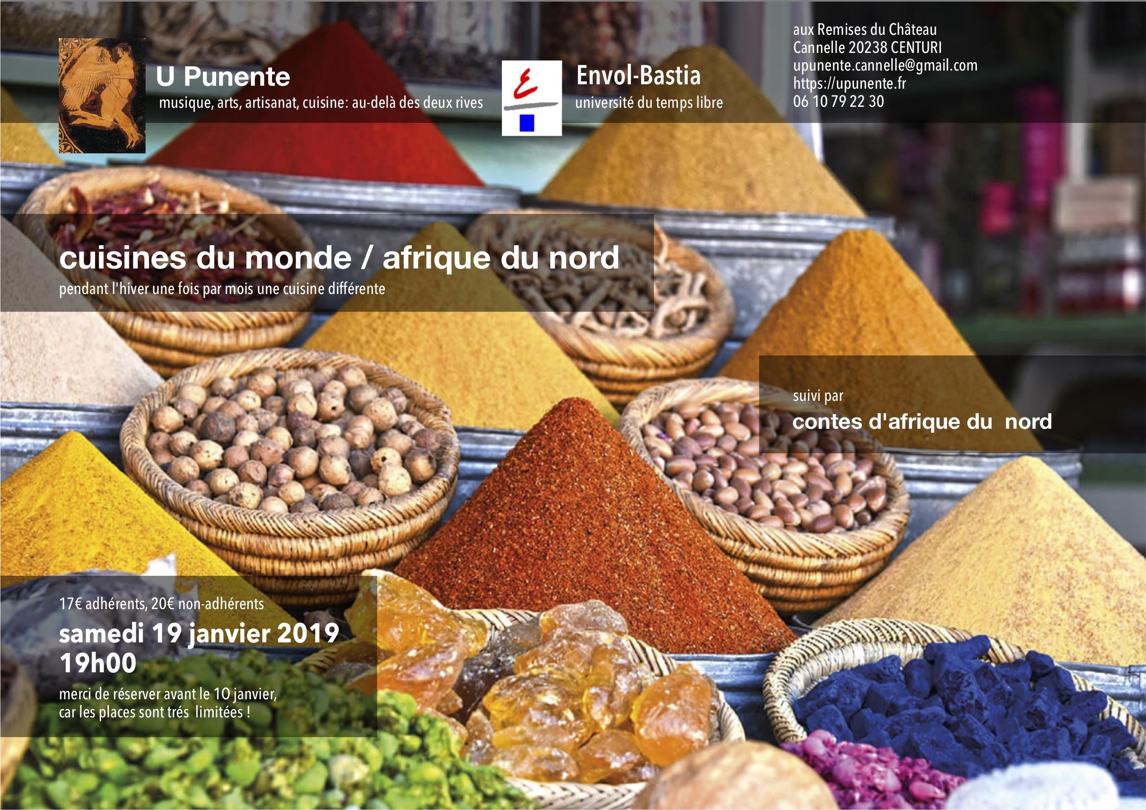 cuisines du monde-afrique du nord